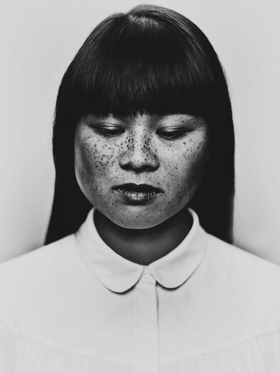 Portrait actress Nhung Dam shot - bastiaanwoudt   ello