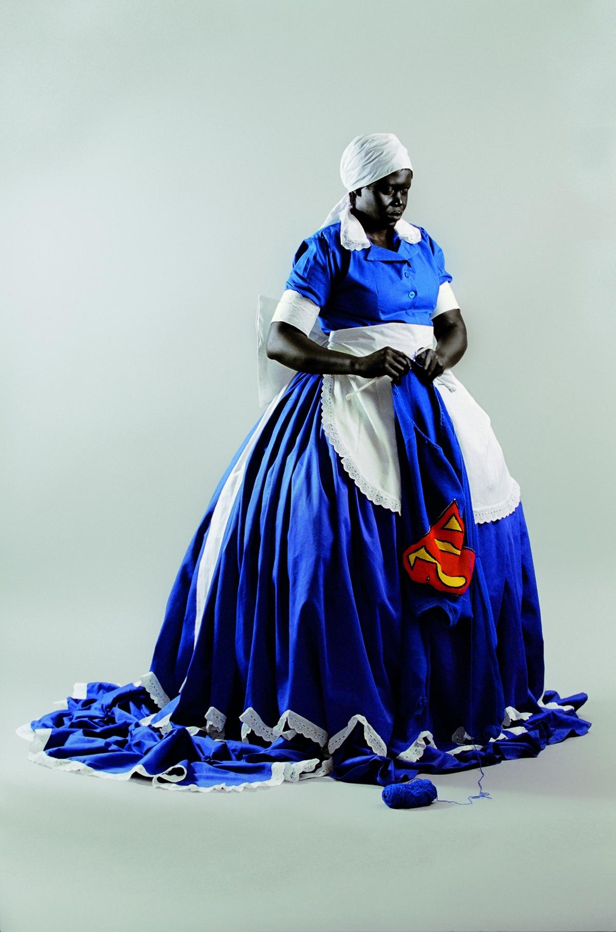 Mary Sibande 2008 - blackartmatters | ello