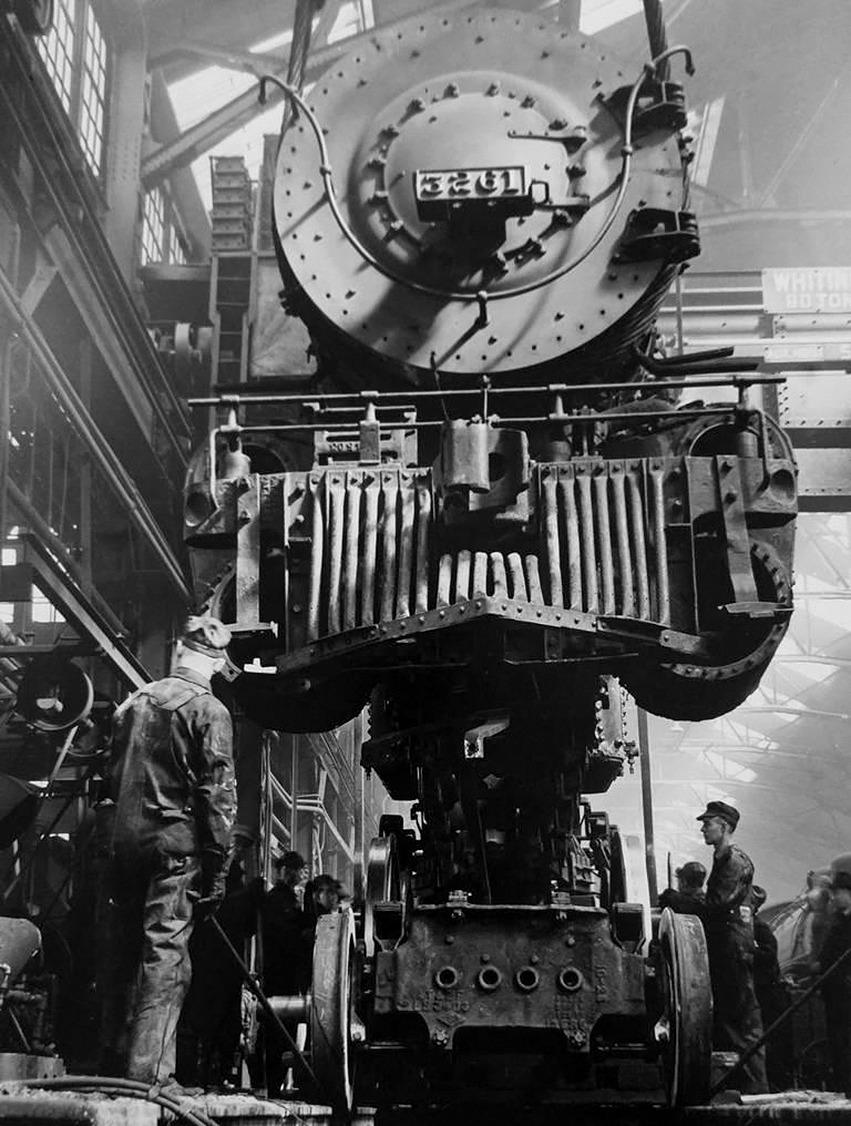 Jack Delano: Santa Fe Railroad  - arthurboehm | ello