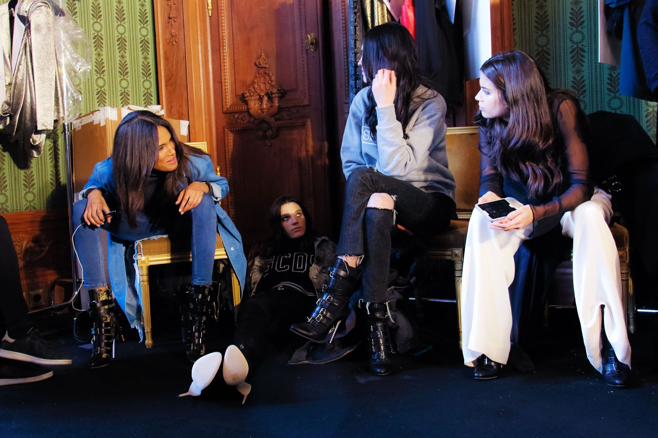 Backstage Redemption - models, fashion - fashionsnap | ello
