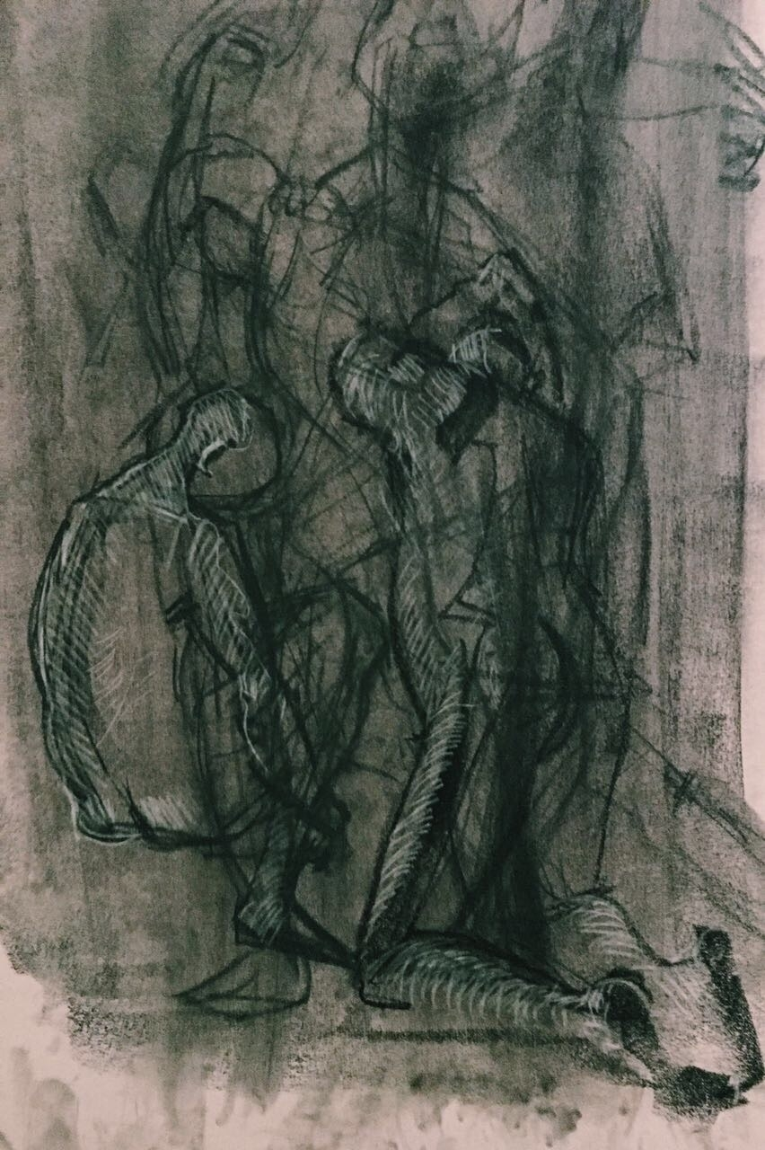 illustration, painting, paint - yuliavirko | ello
