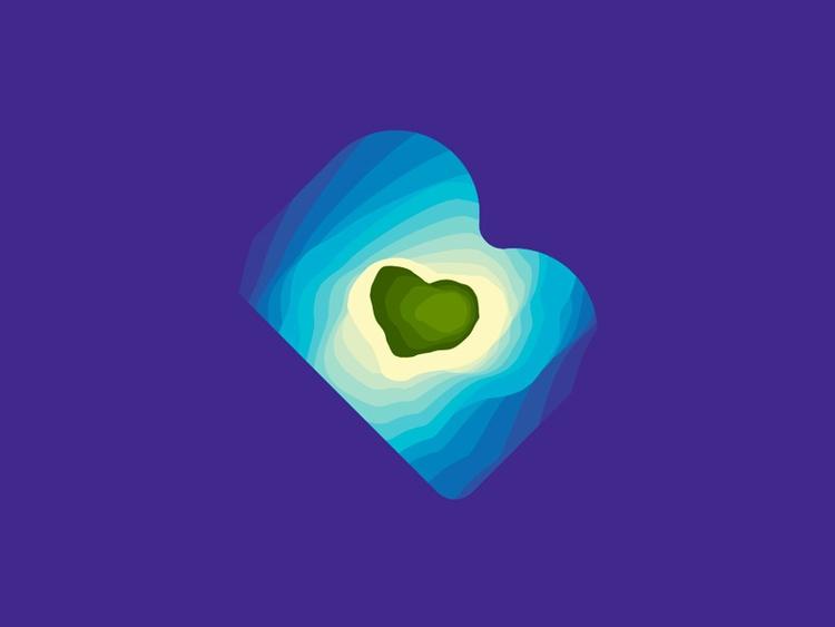 Maldives travel agency logo: BM - alextass   ello