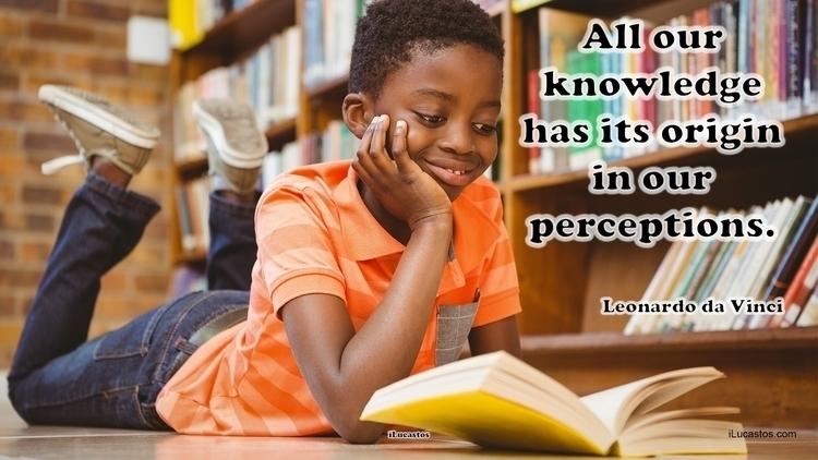 knowledge origin perceptions.  - ilucastos | ello