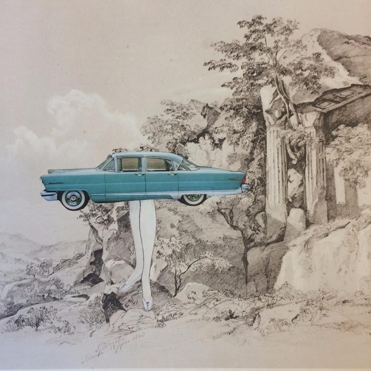 empire series. Ruins 05 - cars, vintagecars - danielletcole | ello