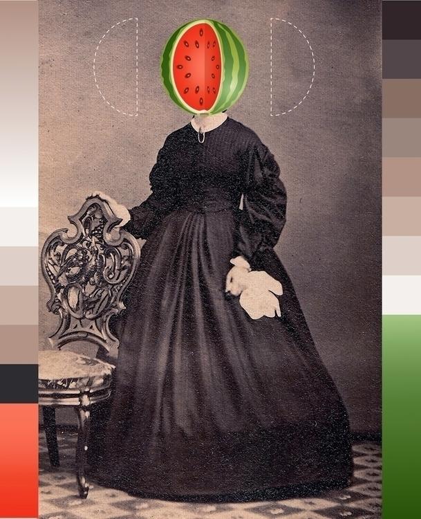 Lady watermelon [Ladies project - sandromartini | ello
