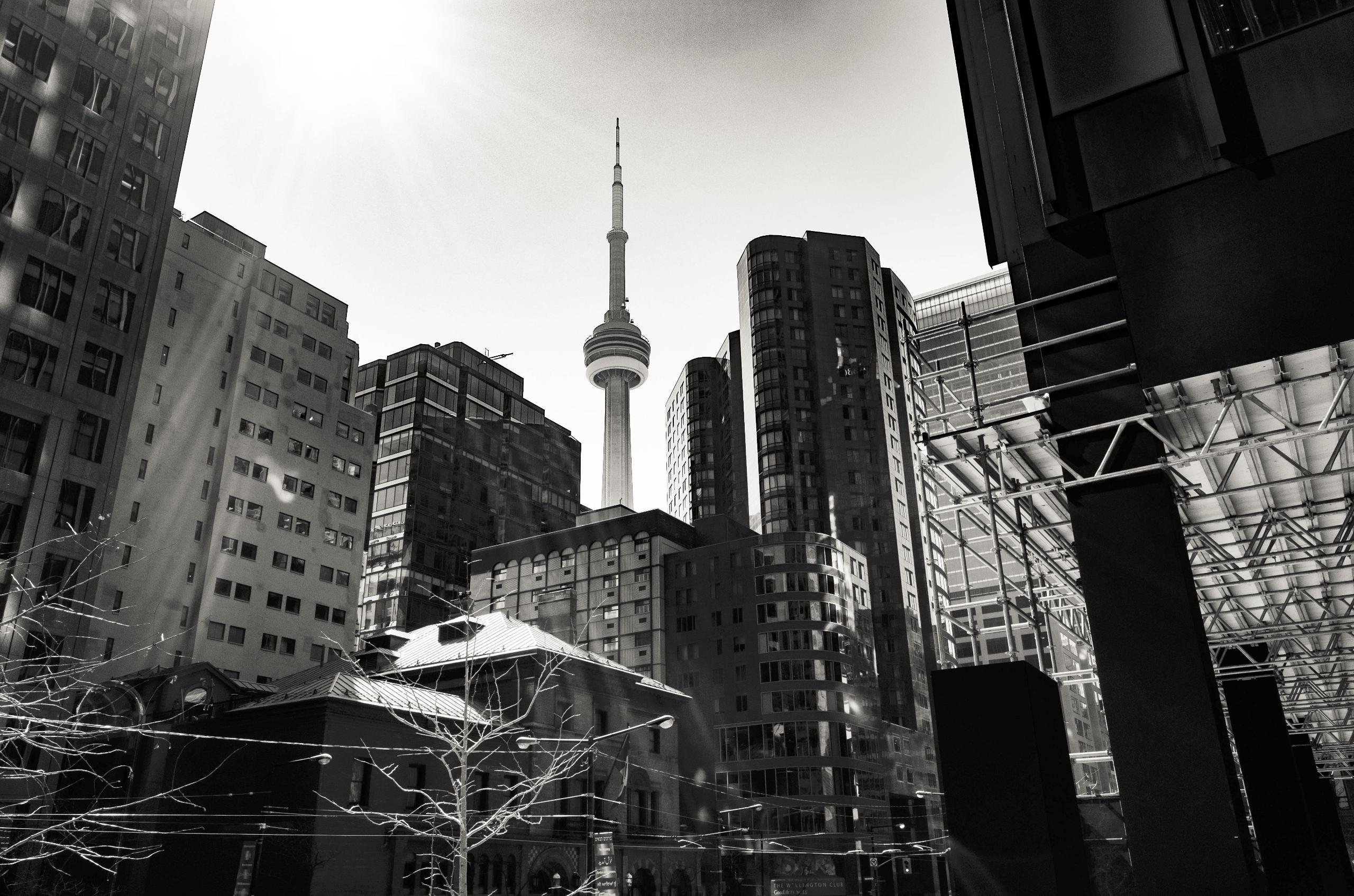 Toronto Skyline Financial Distr - seanrasmussen | ello