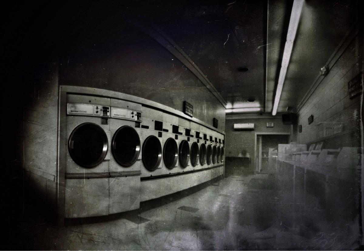 Laundromat ghosts..pinholed 30  - katznjamn31545 | ello