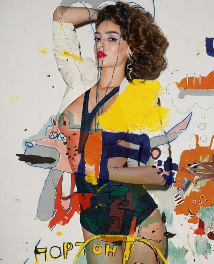 \ Pure art collage illustration - vikipedia   ello