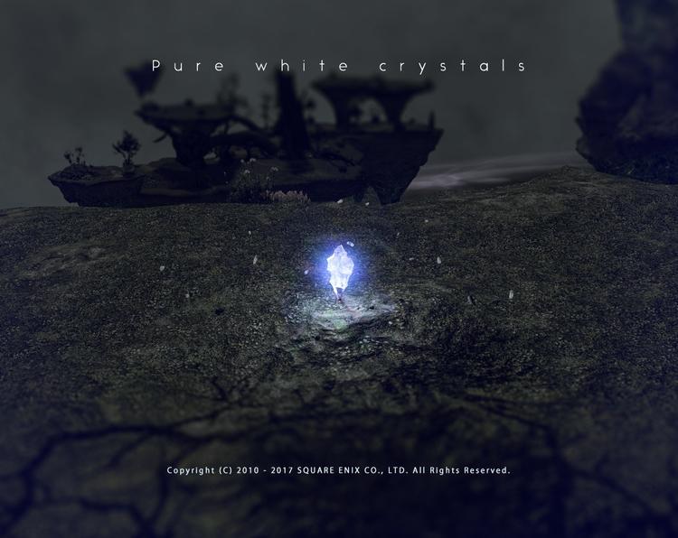 Pure white crystals ディアデム諸島 - 白 - flcvs | ello