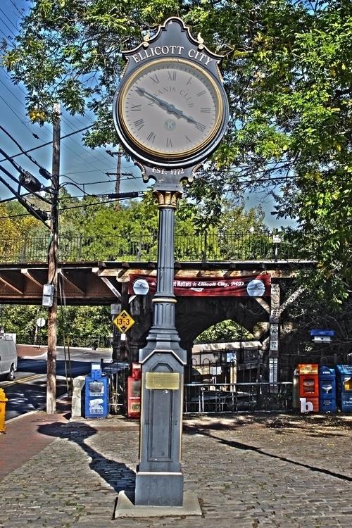 Ellicott City Clock - Tiffany S - tmphotographybaltimoree   ello