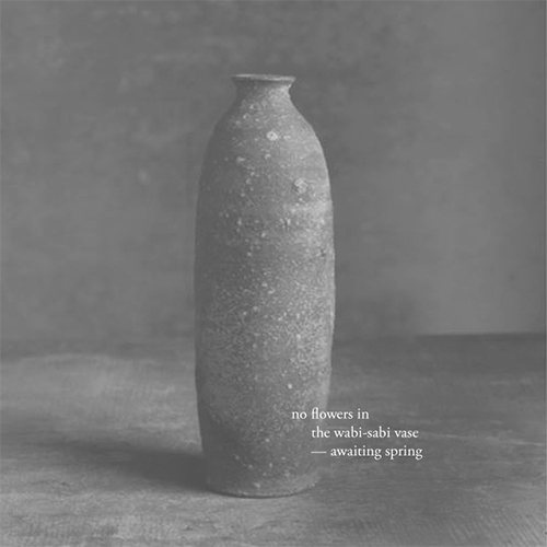 Haiku / flowers wabi-sabi vase  - kashyapi | ello