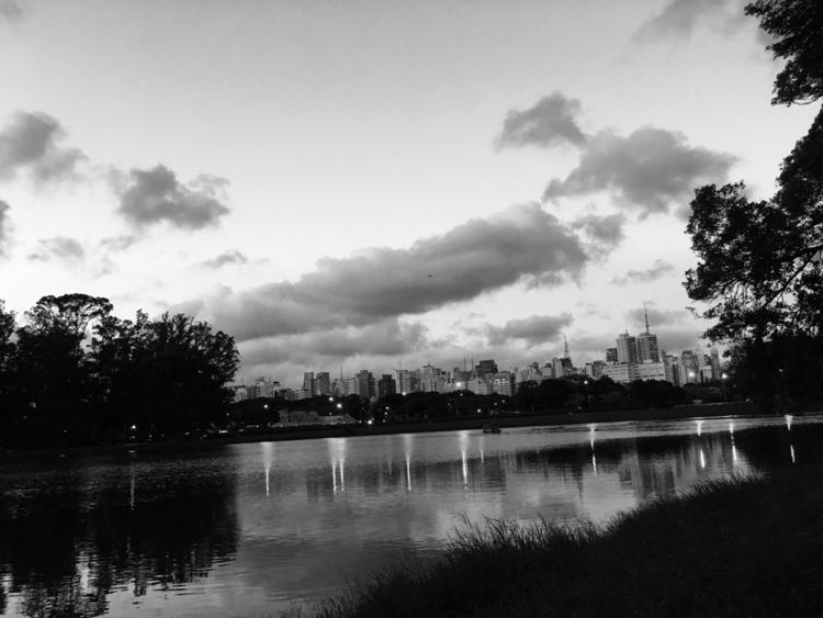 Sao Paulo - Brazil - city, lake - sergiobarbosa | ello