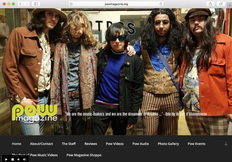 band image header San Howlin' W - powmagazine   ello