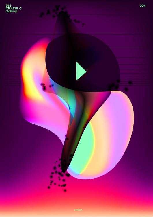 004, graphic, art, color, future - smykcur   ello