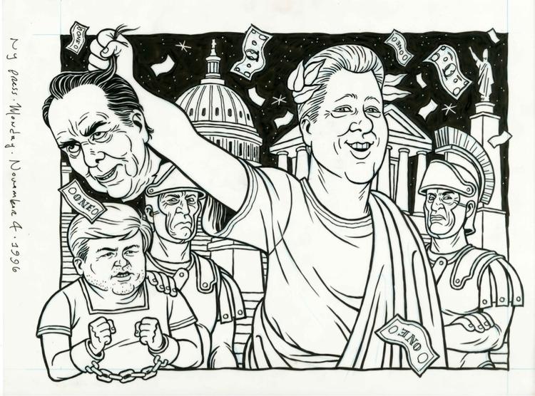 Bubba Triumphant, illo NYPress - dannyhellman | ello