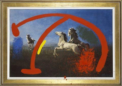 Joan Miró Horse Startled Bird,  - modernism_is_crap | ello