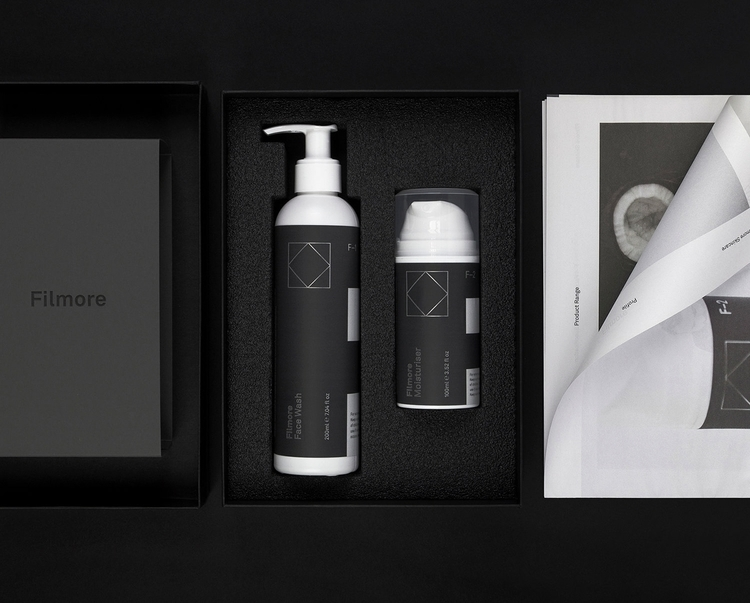 Brand identity packaging skinca - northeast | ello