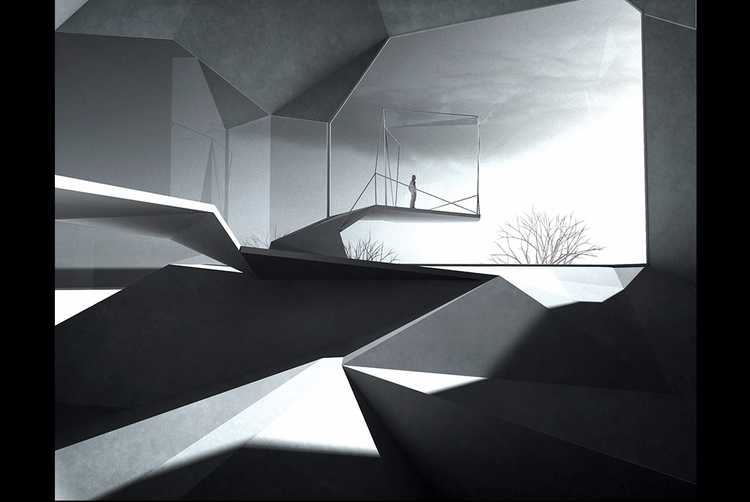 prototype, architecture, lowpoly - ekrstv | ello