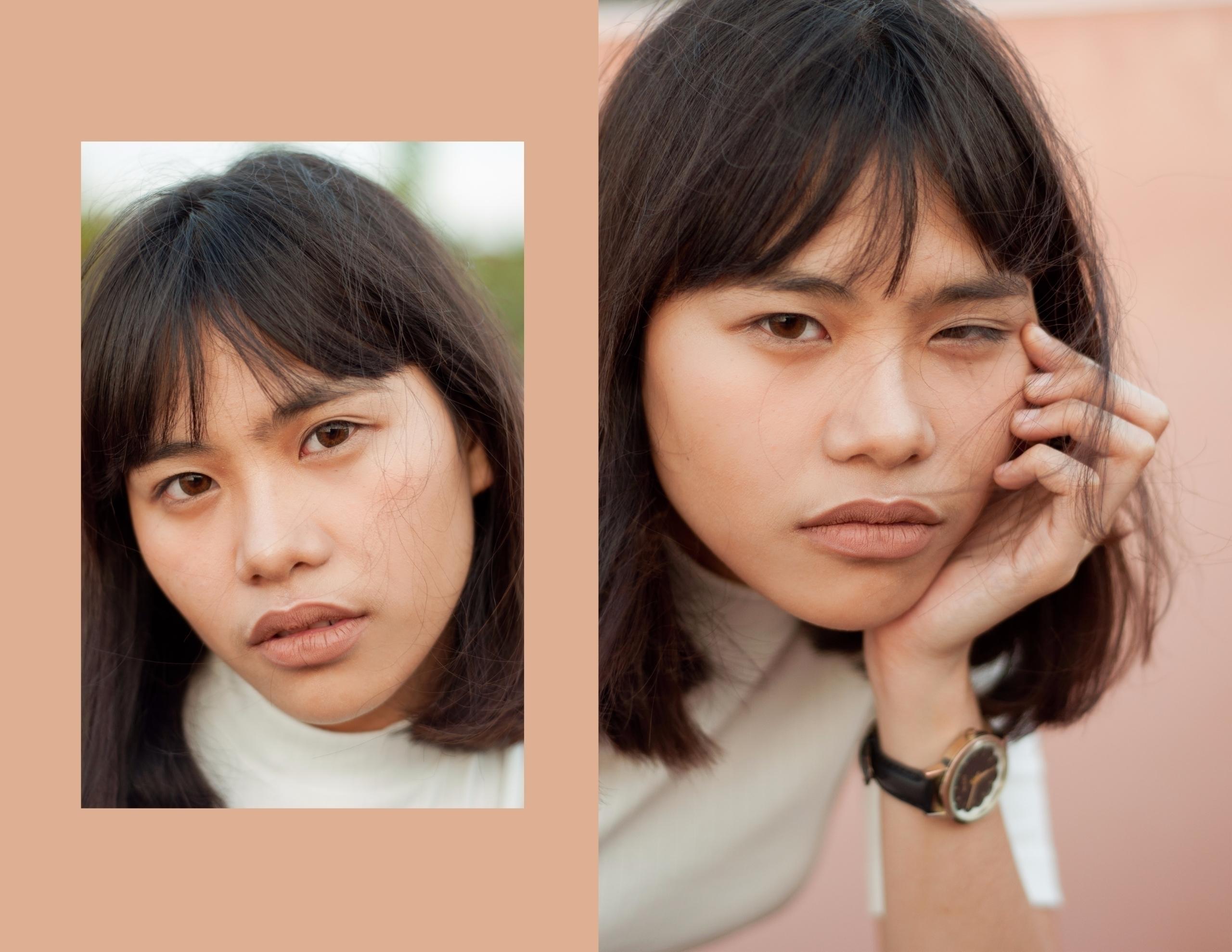 ₩ 1/3 Model: Jamie - fashion, portrait - jolinapaula | ello