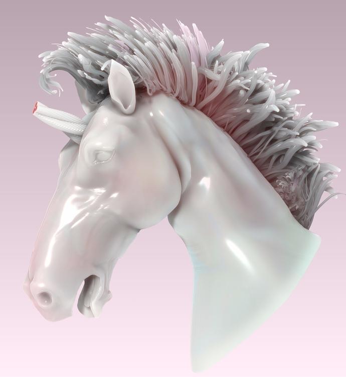 time sculpted pony ¯\_(:unicorn - noises   ello