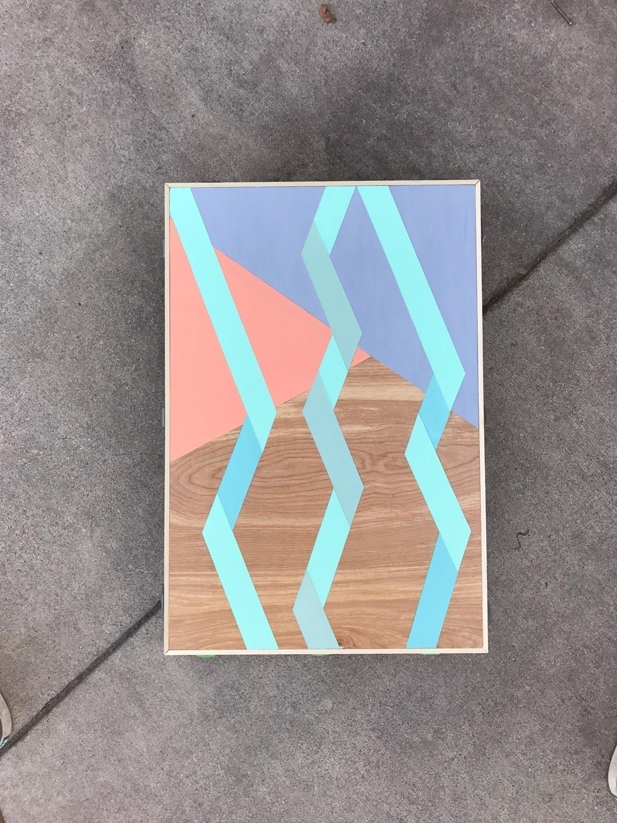 acryliconpanel, painting - matt_shurtleff | ello
