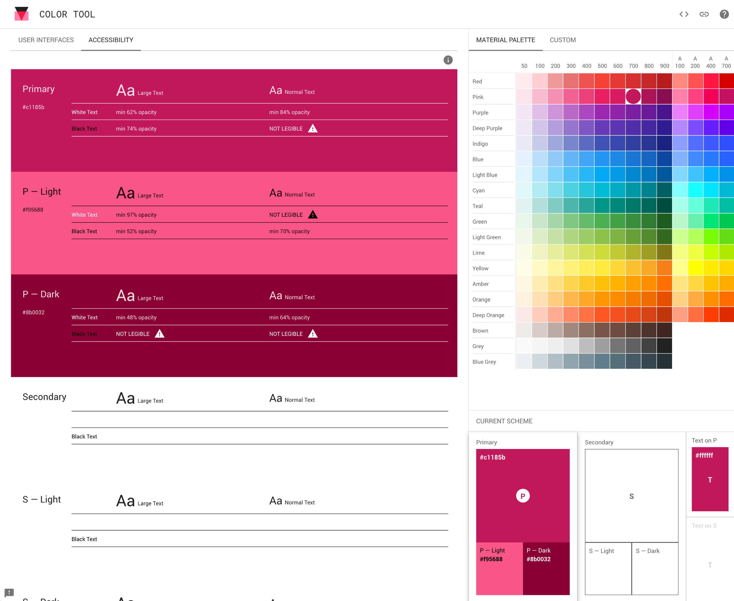 Color Tool Material Design. Goo - ellowebdesign | ello