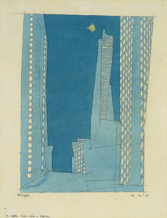Lyonel Feininger, 1937 - arthurboehm   ello