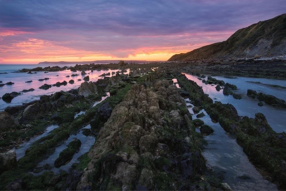 beautiful sunrise Côte France - landscape - charlespacque | ello