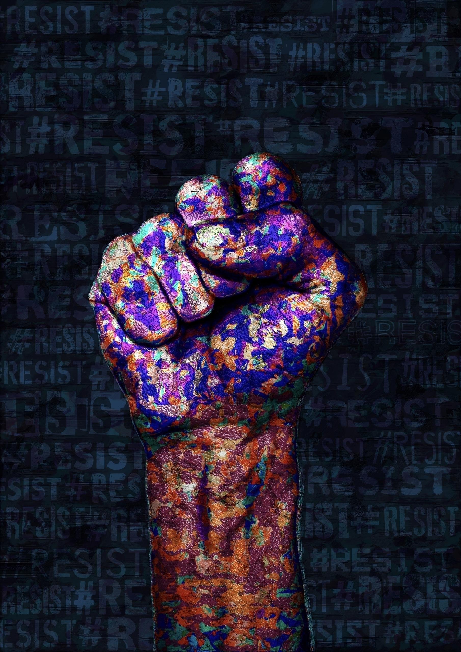 Resist, resistance, resist xeno - ferreiraricardo | ello
