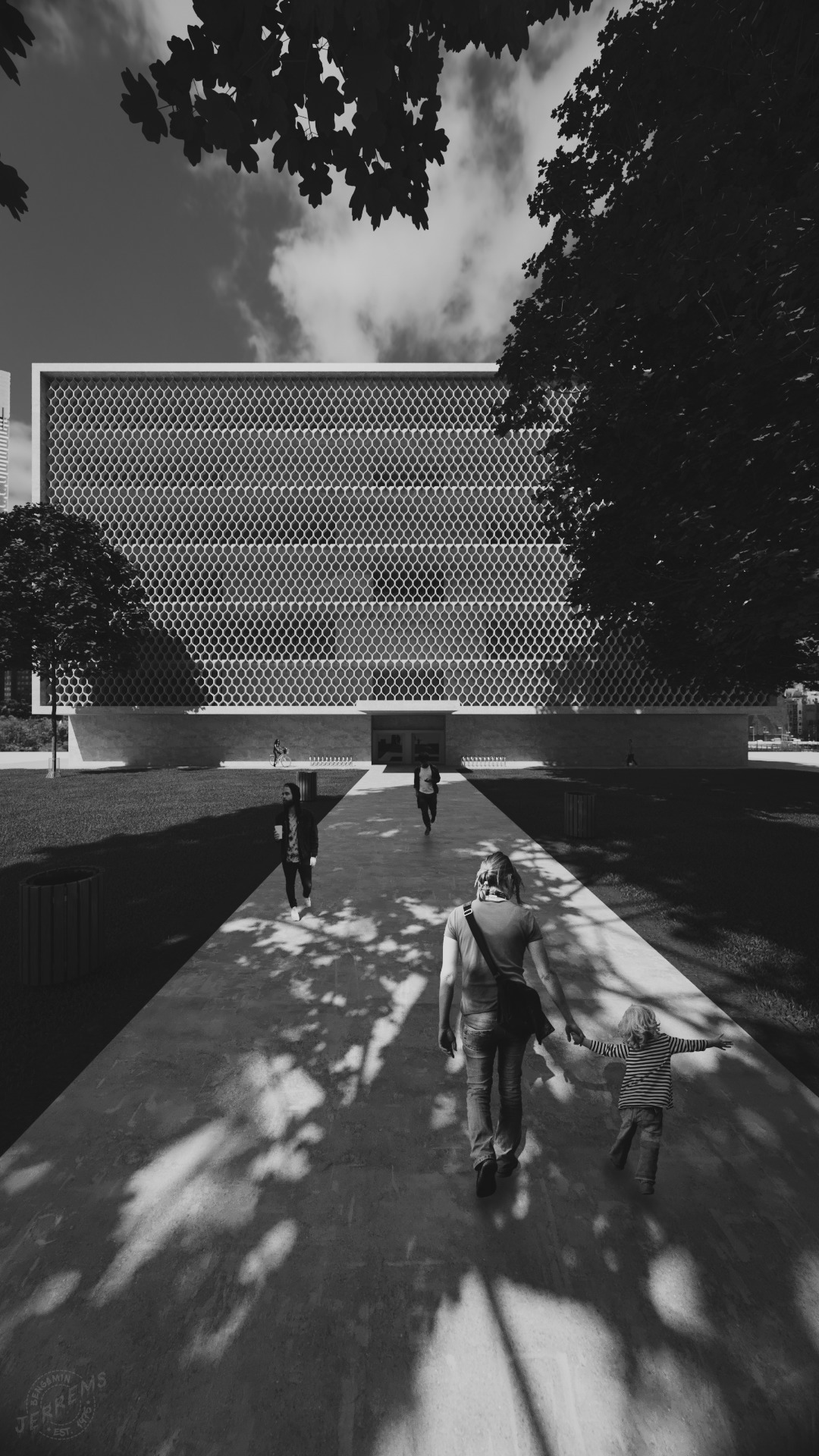 'Modernist Building - modernist - bengaminjerrems   ello