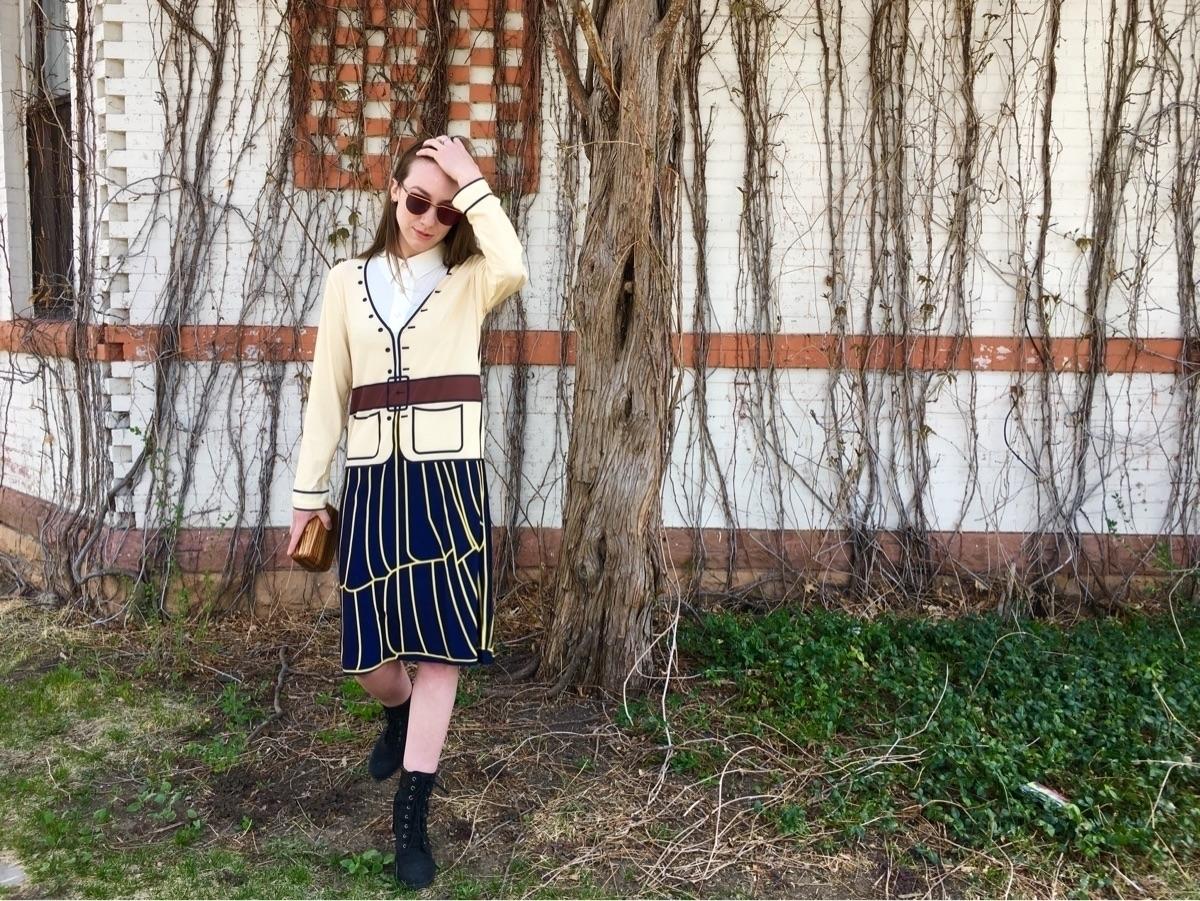 Front Row Shop dress, Timberlan - maggie | ello