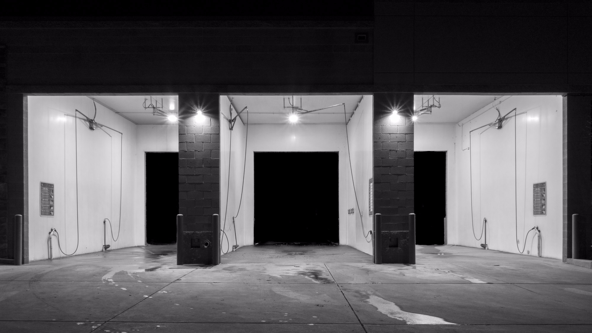 Night Scene - Car Wash - architecture, - chrishuddleston | ello