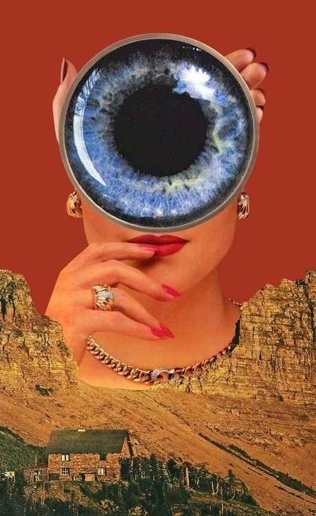 Watcher - collage, collageart, art - bk_collage | ello