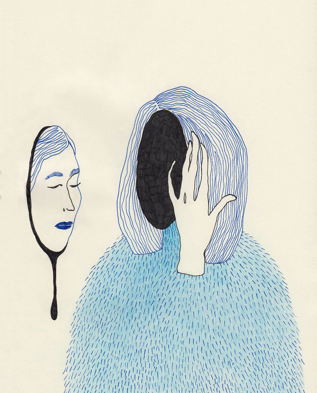 Amnesia - illustration - clescenco_irina | ello