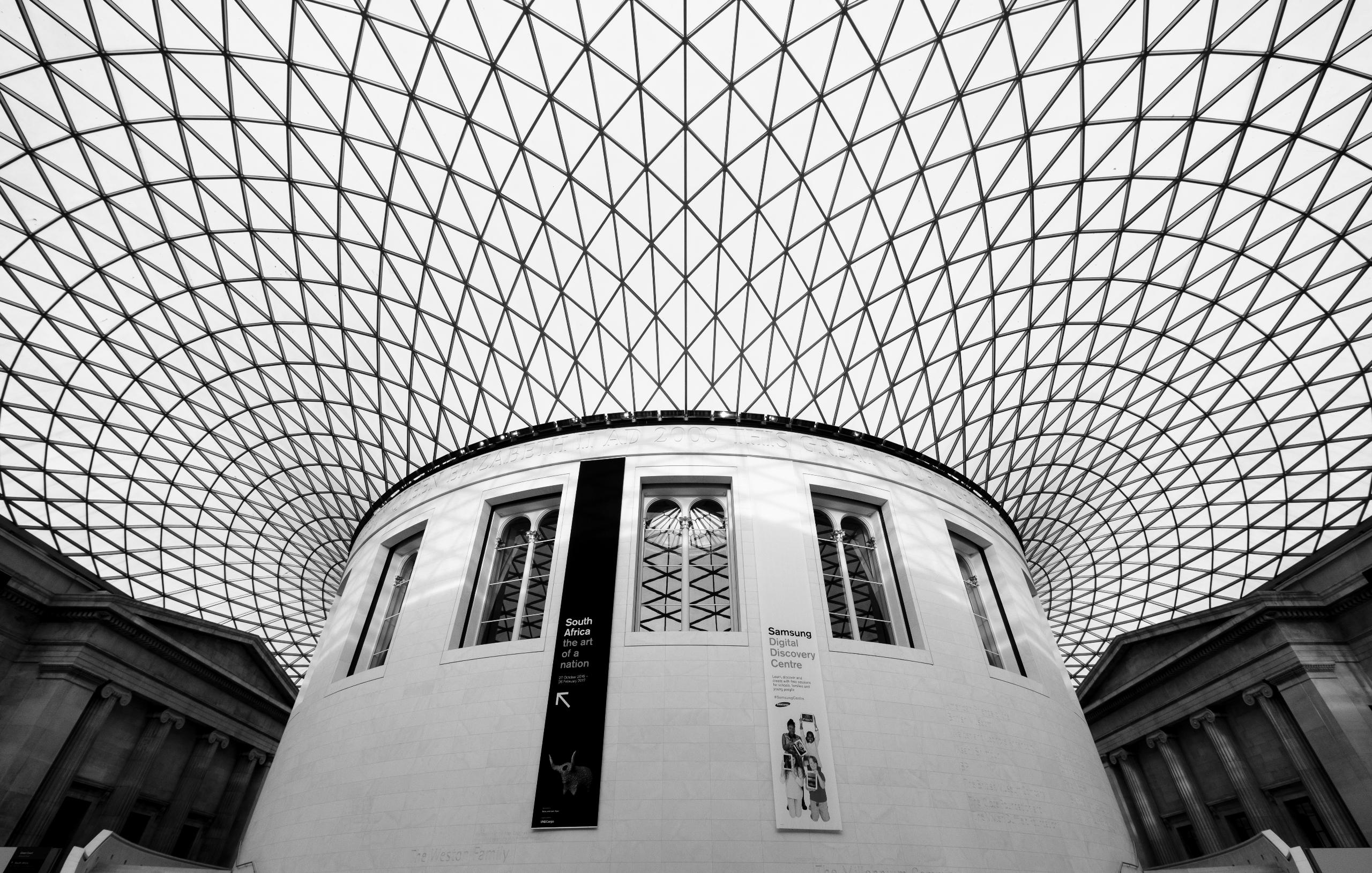 UFO - britishmuseum, courtyard, museum - realstephenwhite | ello