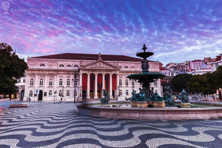 Maria II National Theatre Lisbo - hsphotos | ello