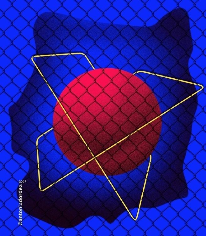 Fence find work Instagram Faceb - antoniadordea | ello