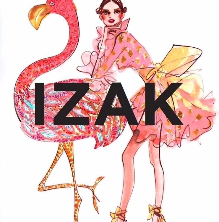 Izak Zenou Fashion Illustration - trafficinc | ello