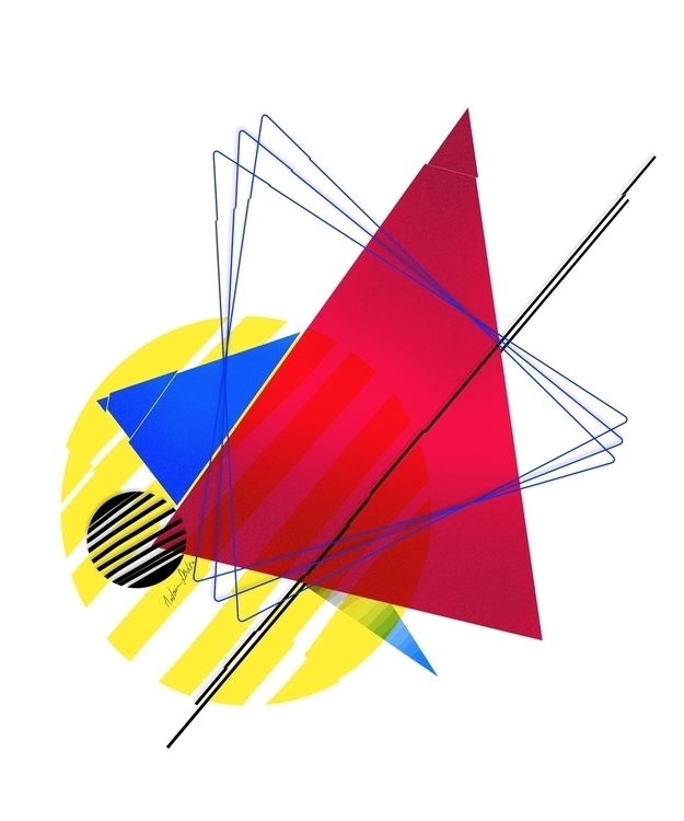 Primary colors shapes find work - antoniadordea | ello