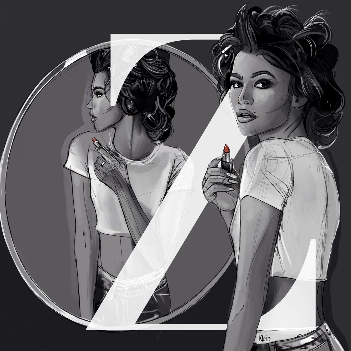 Zendaya Illustration - zendaya, artwork - fmonroyr | ello