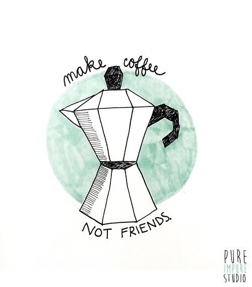 coffee, friends - thedominica | ello