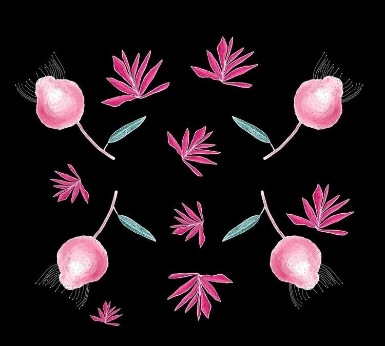 Pink find work Instagram Facebo - antoniadordea | ello