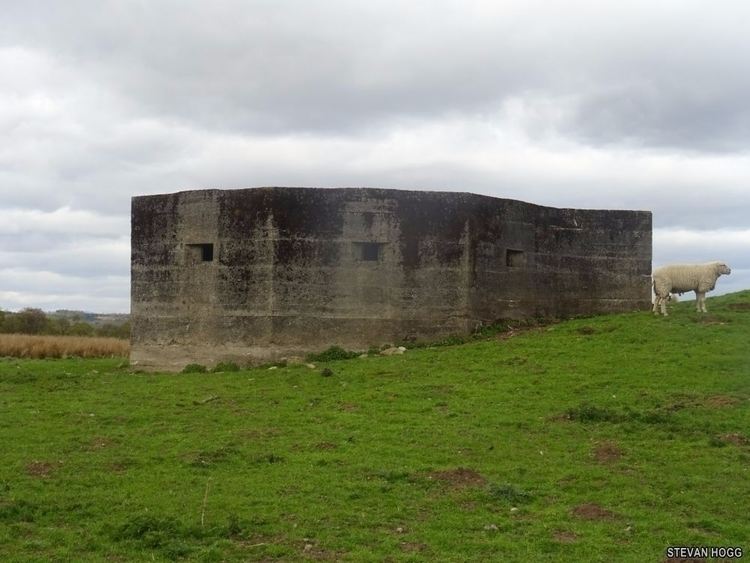World War 2 Pill Box Forfar Sco - stevanhogg   ello