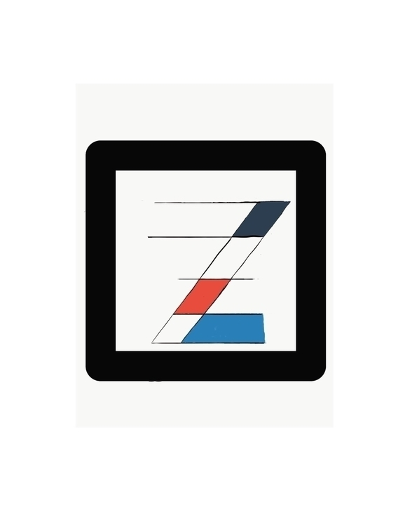 liking - typography, Mondrian - zackmto | ello