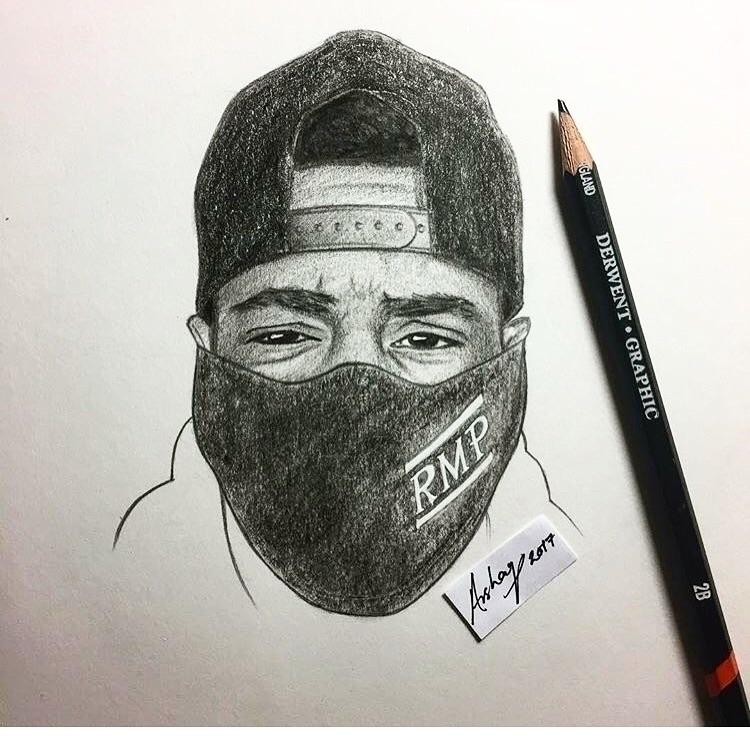 Dope Sketch Supporter - rmp_music | ello