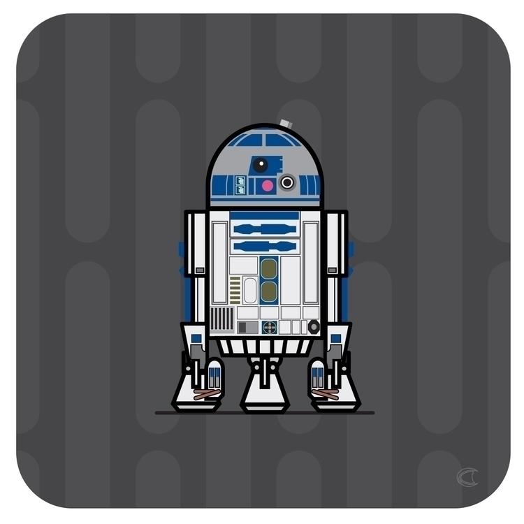 Droids.  - droids, starwars, scifi - cliff-c-black | ello