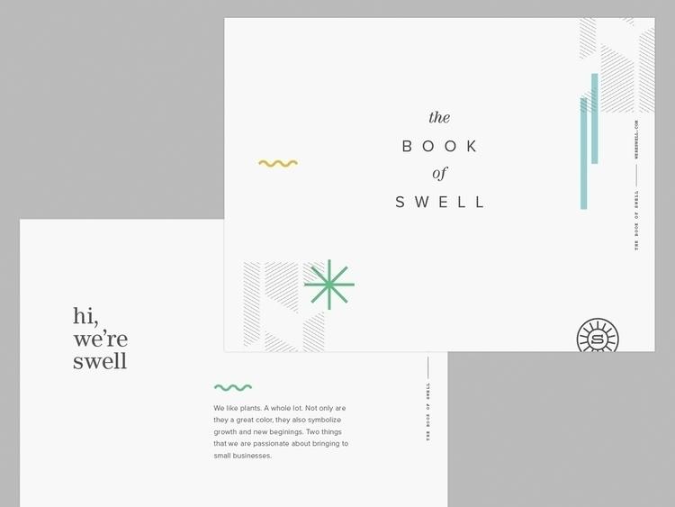 beginnings brand book. Woot - swelldesign | ello