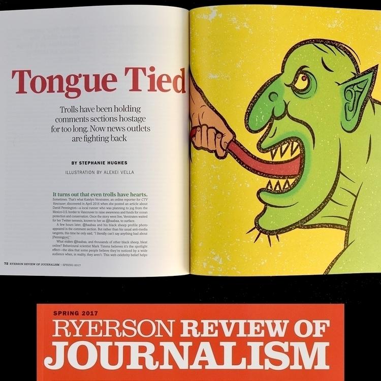 Tongue Tied/Taming Online Troll - alexeivella | ello