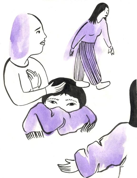 Skitchy sketch - illustration, drawing - ntruskey | ello