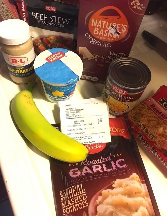 $4.42 grocery store... Banana y - adverteria | ello